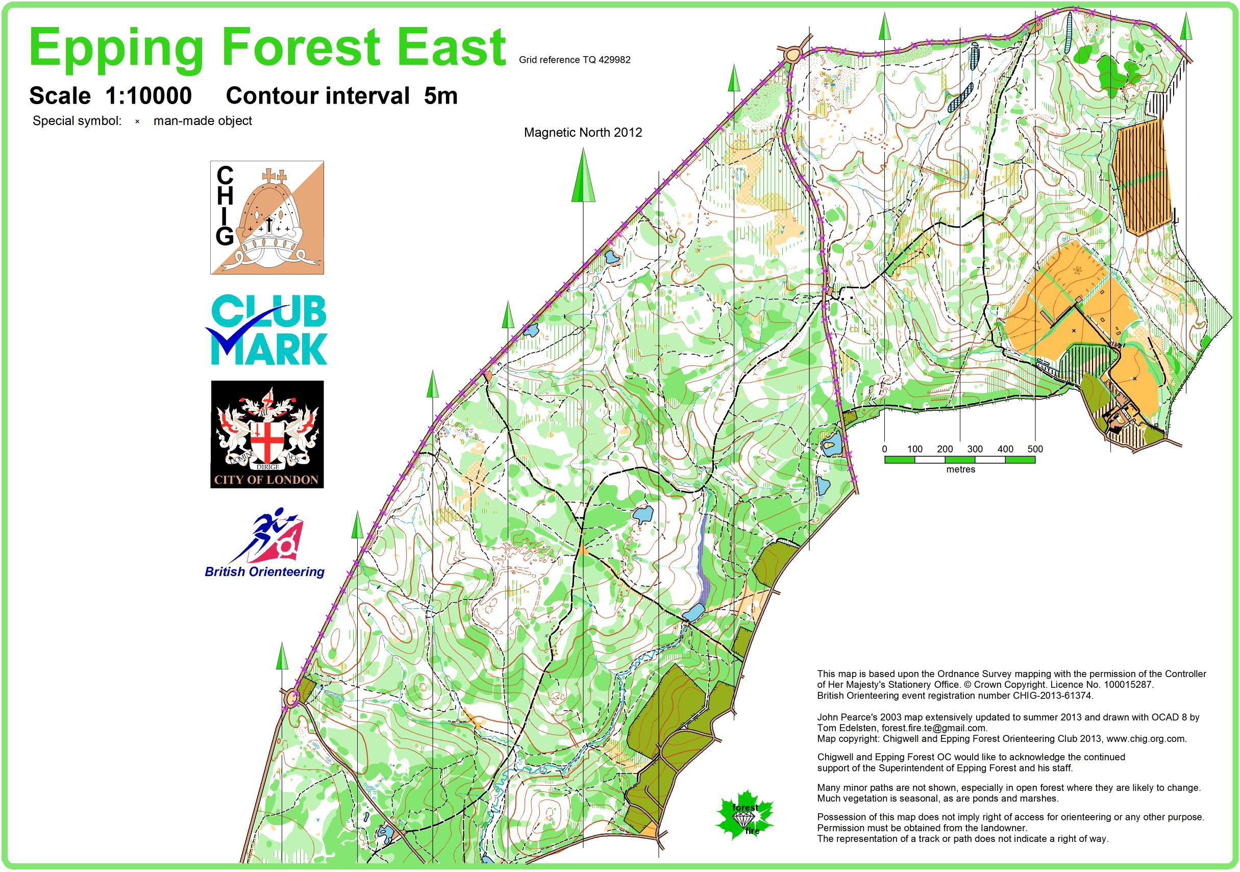 Mitre 2013 - September 29th 2013 - Orienteering Map from ... on map of regina sask, map of kingsley plantation, map of m25 motorway, map of windsor great park, map of emirates stadium, map of historic annapolis, map of city of westminster, map of west coast of scotland, map of richmond park, map of borough market, map of parliament square, map of river tweed,